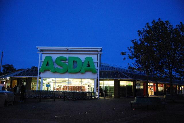 ASDA supermarket, Swanley