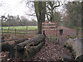 SP1774 : Way into Dorridge Park from Arden Drive B93 by Robin Stott