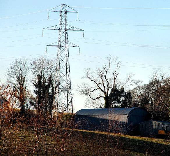 Pylons and power lines near Comber (3)
