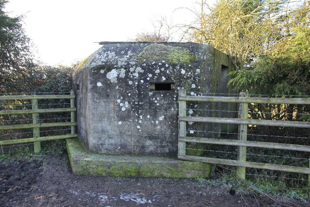 Shifford farm pillbox