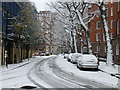 TQ2978 : Snow in Marsham Street Westminster by PAUL FARMER