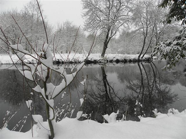 Wintry along the Camowen