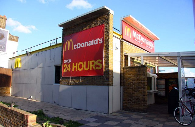 McDonald's on The Highway