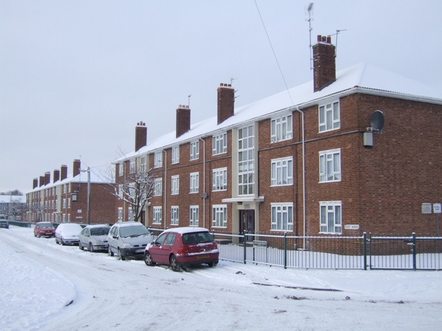 Council Housing - Guest  Avenue