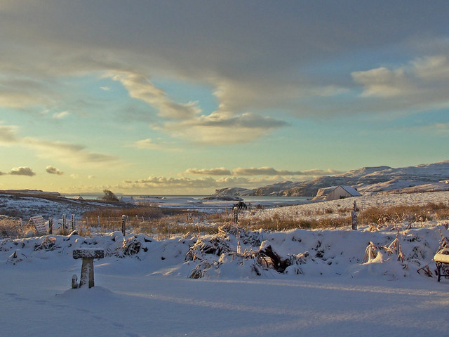 Roskhill view - December 2010