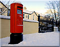 J3674 : Pillar box, Belfast by Albert Bridge