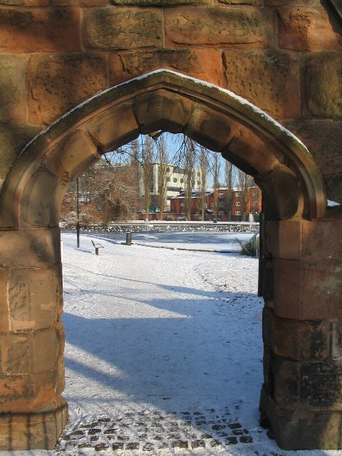 Gateway to Swanswell Park