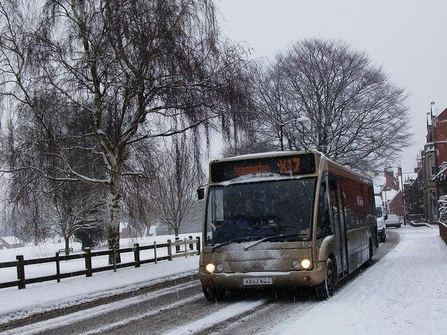 Bus To Leamington Spa