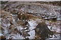 SD9233 : The Burnley Way near the head of Widdop Reservoir by Bill Boaden