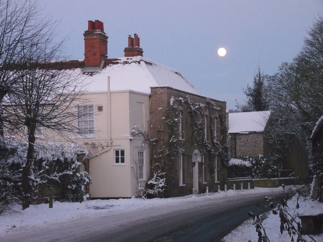 The Old Chapel House in midwinter