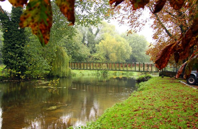 Footbridge over the Little Ouse River