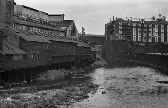 Steelworks, River Don, Sheffield