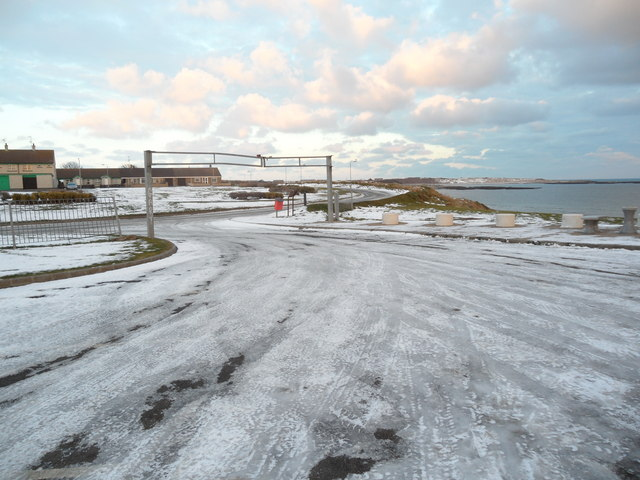 Winter in the Car Park, Ballyhornan