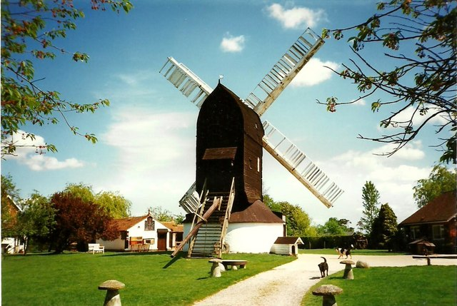 Outwood Post Mill