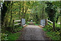 TQ4936 : Bridge on the Forest way by N Chadwick