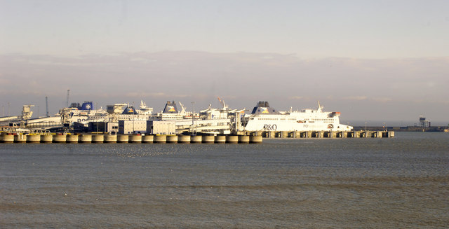 Christmas 2010, Midday - Dover  Ferry Terminal