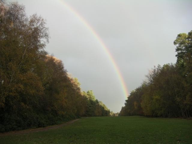 Rainbow at Sandringham