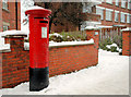 J3873 : Pillar box, Belfast by Albert Bridge