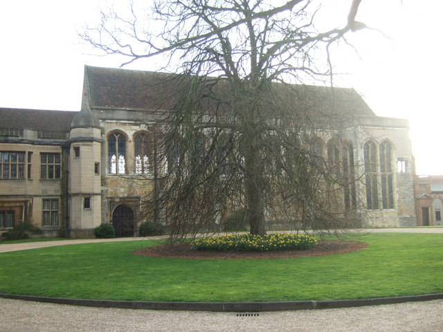Eltham Palace - 15th cent Great Hall from the north