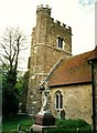 TQ6558 : St. Margaret's Church, Addington by Roger Smith