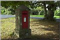 SX0552 : Post box near Carlyon Bay by Roger May