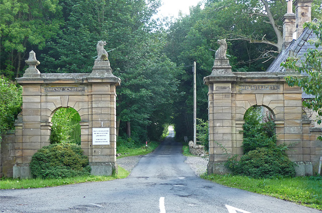 North Eastern Entrance to Minsteracres