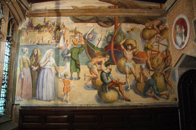 St Blaise Chapel Mural 169 Richard Croft Geograph Britain