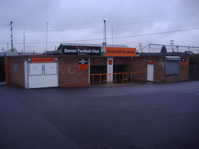 Barnet Football Club, Westcombe Drive entrance