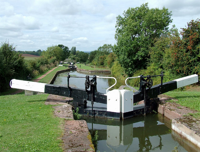 Hanbury Lock No 1, Worcestershire