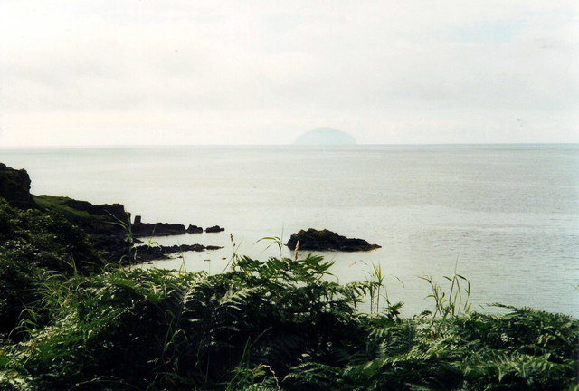 The Ayrshire Coastline at Dunure