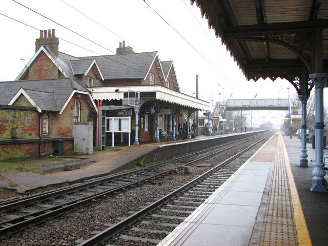 Diss railway station