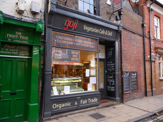 Goji Cafe Vegetarian Cafe Deli York