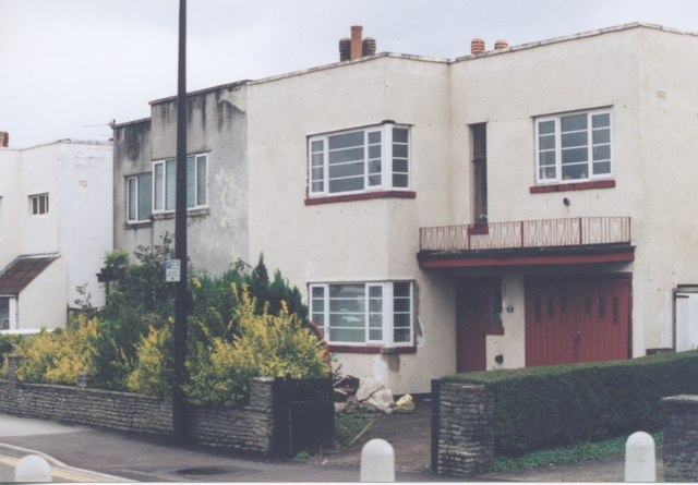 art deco houses station road alan cooper geograph britain
