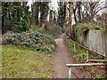 TQ3603 : Footpath to Court Ord Road by Paul Gillett