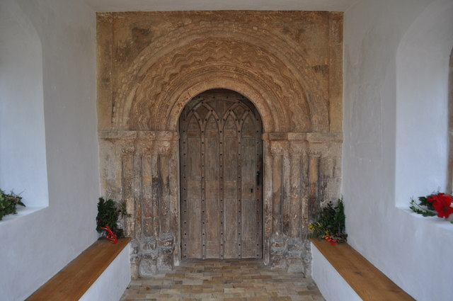 Norman Doorway - Henstead Church
