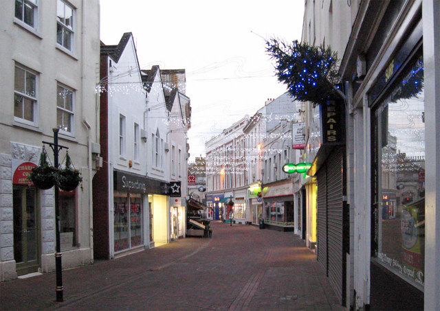 Bank Street, Teignmouth