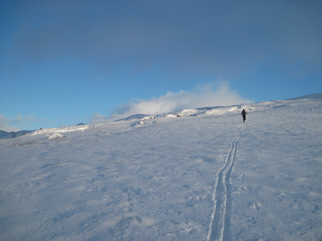 Christmas Day 2010: Heading towards Carnedd y Cribau