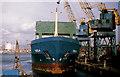 "J3474 : The ""Vela"" at Belfast by Albert Bridge"