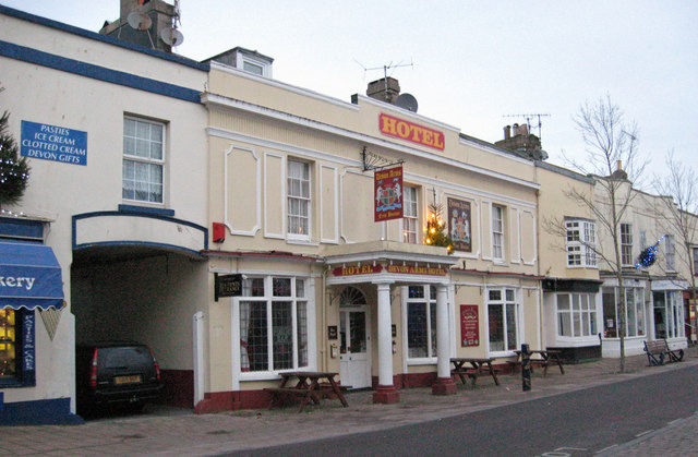 The Devon Arms Hotel, Teignmouth
