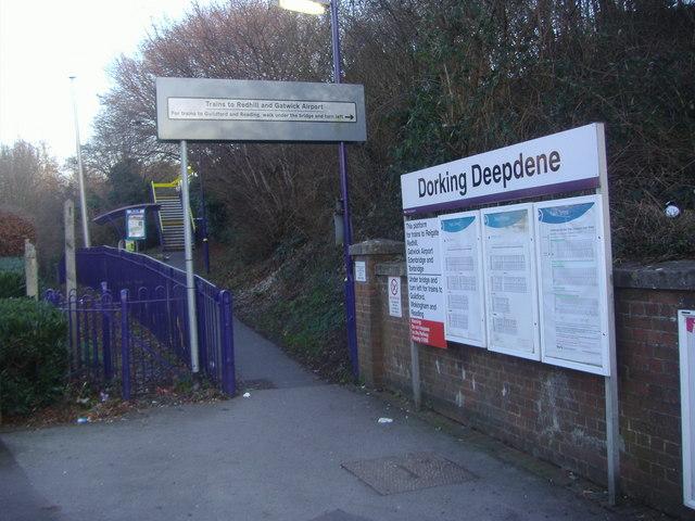 Dorking Main Station Car Park