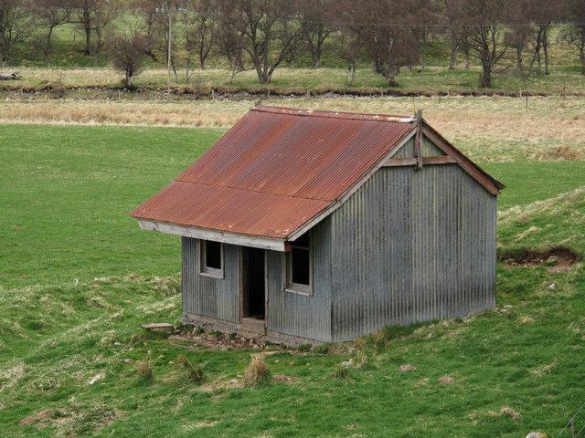 Corrugated Metal Hut In Glen Avon 169 Trevor Littlewood