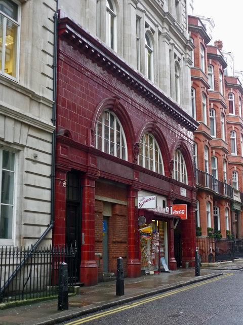 Former Down Street Underground Station, Piccadilly