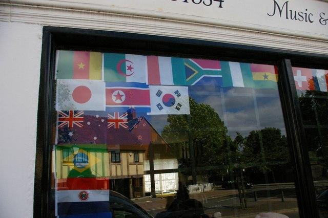 World Cup fever hits Farnborough, 2010