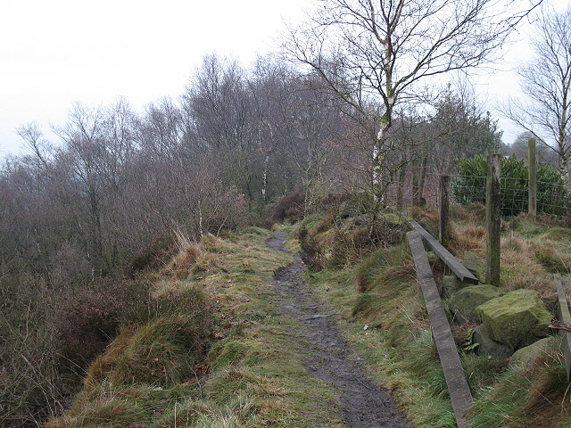 Footpath along Congleton Edge