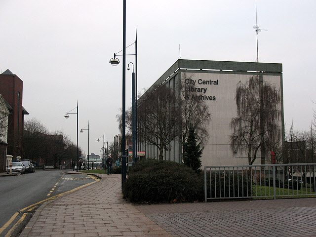 Stoke-on-Trent city library