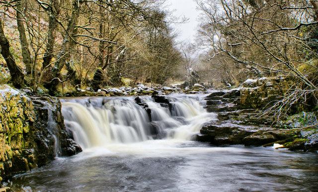 Waterfall at High Hynam
