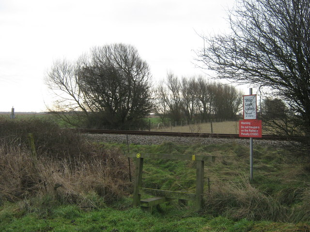 Level Crossing near Swamp Road