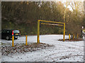 SE0921 : Car park for North Dean woods by Stephen Craven