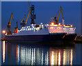 J3676 : Laid-up ferries, Belfast : Week 2
