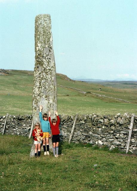 Standing stone near Ballinaby